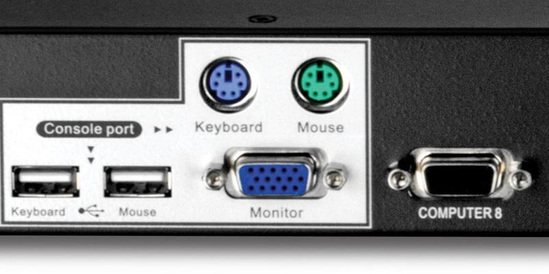 Detailed review of TRENDnet TK-803R USB/PS2 Rack Mount KVM Switch