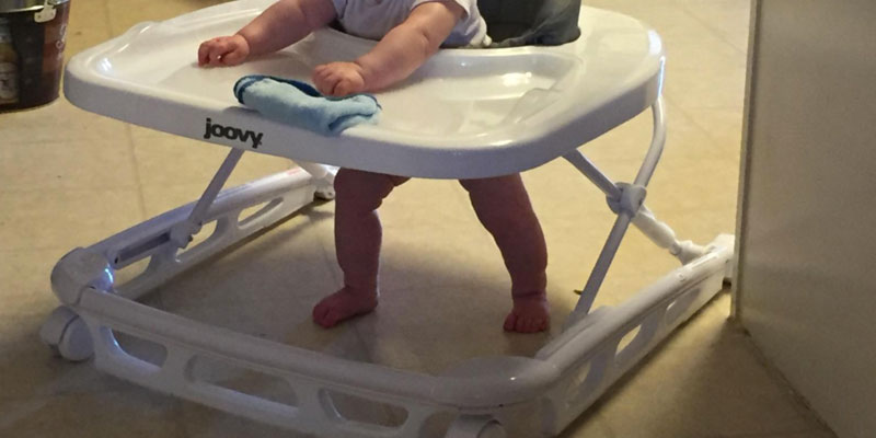 Detailed review of Joovy Spoon Baby Walker