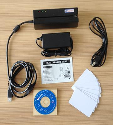 Review of Deftun MSR605 HiCo Magnetic Stripe Card Reader