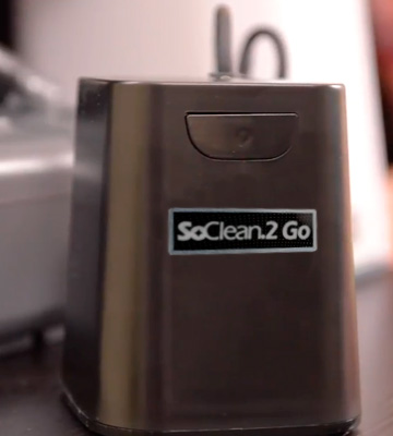 Review of SoClean SC1300 2 Go Travel CPAP Cleaner