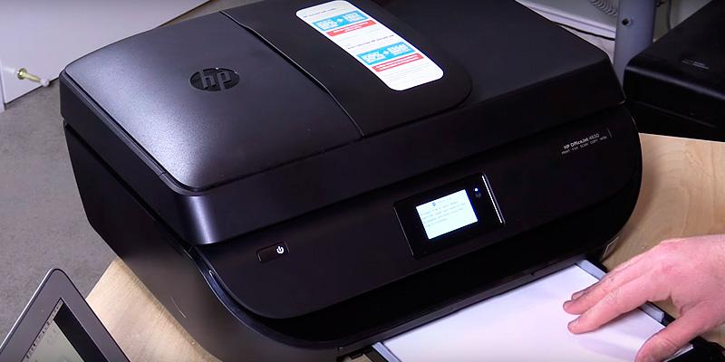 HP Officejet 4650 Wireless All-In-One Inkjet Printer in the use