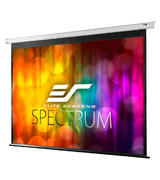 Elite Screens ELECTRIC120V 120-inch Diag 4:3, Electric Motorized Projector Screen