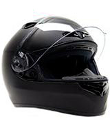 Typhoon YOSN957BLKM Full Face Helmet