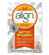 Align Probiotic Supplement 24/7 Digestive Support with Bifantis