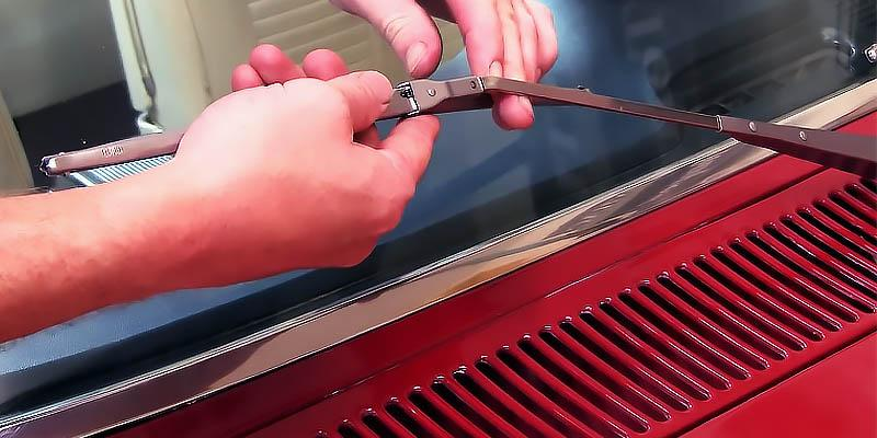 Anco Conventional Windshield Wiper Blade in the use