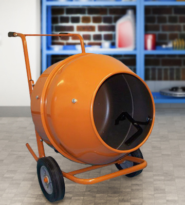 Review of Generic Wheel Barrow Portable Cement Concrete Mixer