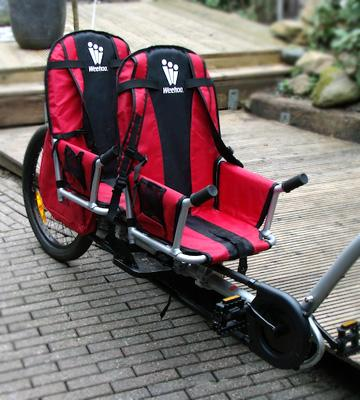 Review of Weehoo iGo Two Bike Trailer