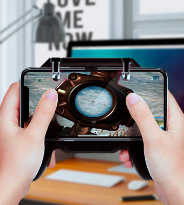 Review of DELAM Mobile Game Controller