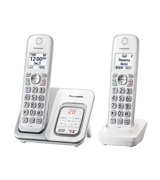 Panasonic KX-TGD532W Expandable Cordless Phone with Call Block and Answering Machine