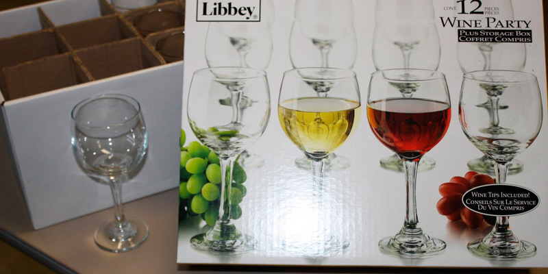 Review of Libbey Wine Party Glass Set