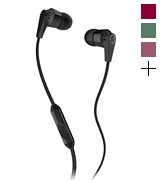 Skullcandy Ink'd 2 (S2IKDY-003) Noise-Isolating Earbud with In-Line Microphone and Remote