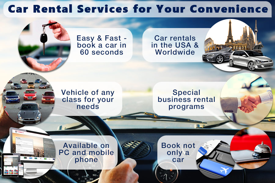 Comparison of Car Rental Services to Add Convenience to Your Trips