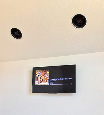 Review of Yamaha NS-IW480CWH In-ceiling Speaker System