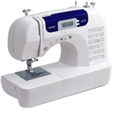 Brother CS6000i Feature-Rich Sewing Machine With 60 Built-In Stitches