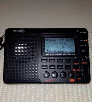 Review of TIVDIO 4331019190 Portable Shortwave Transistor Radio AM/FM Stereo with MP3 Player Recorder Support T-Flash Card and Sleep Timer