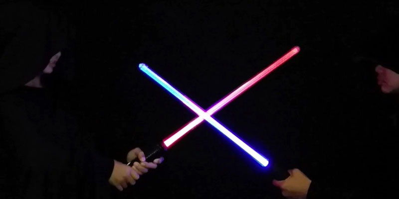 Review of GlitZGlam Galaxy Light Sword Lightsaber