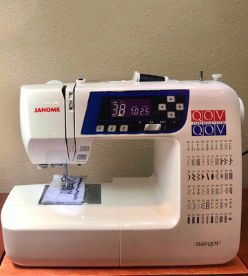 Review of Janome 3160QOV Quilts of Valor Sewing Machine