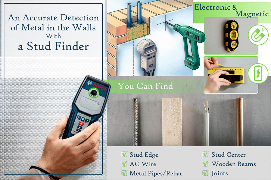 Comparison of Stud Finders That Will Let You Eliminate Hidden Hazards in Your Walls