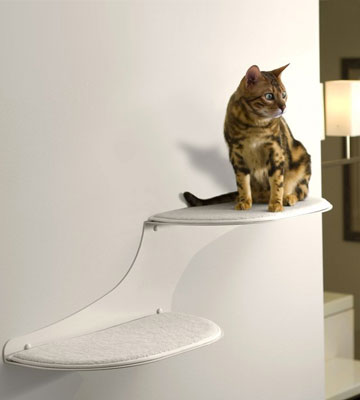 Review of The Refined Feline Cat Cloud Wall Cat Perch