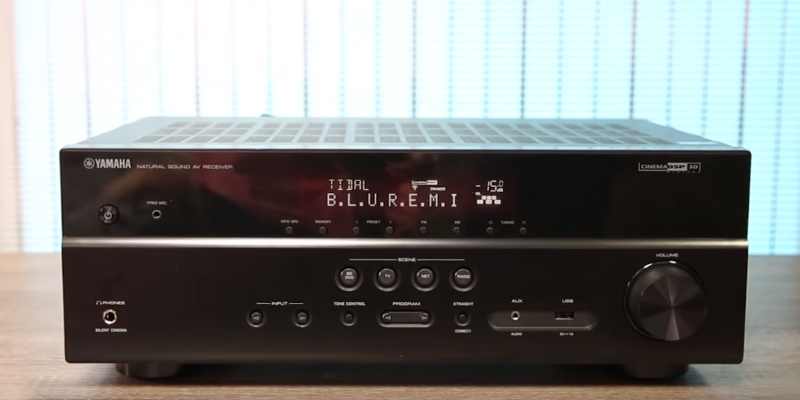 Review of Yamaha RX-V383BL 4K Ultra HD AV Receiver with Bluetooth