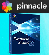Pinnacle Studio 21 Plus Video editing and Live Screen Capture