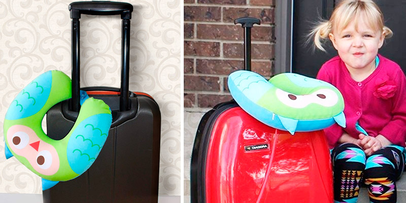 Review of NIDO NEST Car Pillow for Child Toddler Airplane Cars