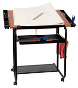Flash Furniture NAN-JN-2739-GG Drawing / Drafting Table