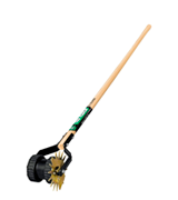 Truper 32100 Tru Tough Dual-Wheel Rotary Lawn Edger