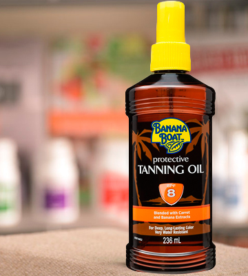 Review of Banana Boat Protective Tanning Oil Spray