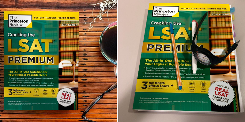 The Princeton Review 27th Edition Cracking the LSAT Premium with 3 Real Practice Tests in the use