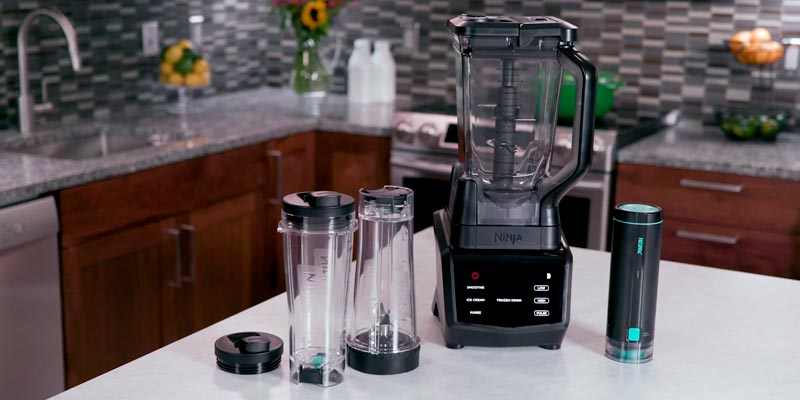 Review of Ninja CT661V Smart Screen Duo Technology Countertop Blender with Freshvac