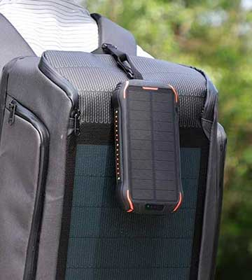Review of Xiyihoo i26s 26800mAh Solar Power Bank / Portable Solar Panel Charger