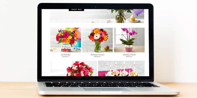 FTD Online Flower Delivery in the use