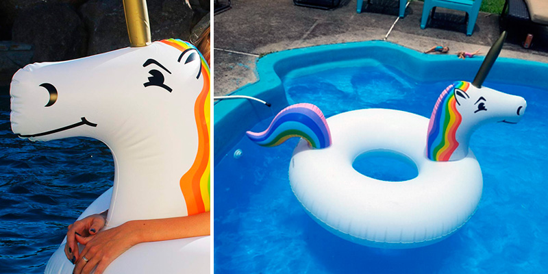 Review of GoFloats Unicorn Pool Float Party Tube