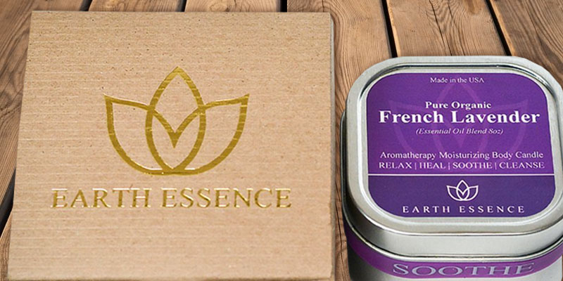 Detailed review of Earth Essence Massage Oil Candle