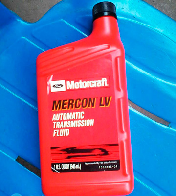 Review of Motorcraft MERCON LV Automatic Transmission Fluid, 12 Quart Case