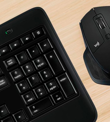 Review of Logitech MX900 Backlit Keyboard and MX Master Mouse Combo