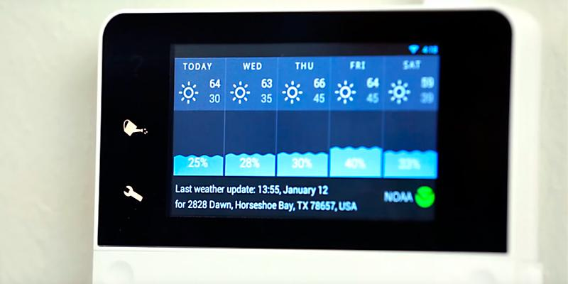RainMachine Touch HD-12 Smart WiFi 2nd Gen  Irrigation Controller in the use