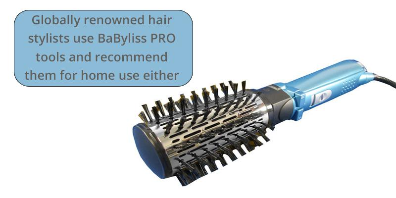 BaByliss BABVR178 2 Inch in the use