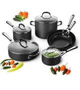 Calphalon Simply SA10H Nonstick 10 Piece Cookware Set