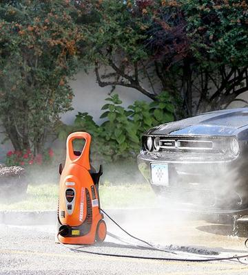 Review of Ivation IVA-9175L Electric Pressure Washer with built-in Soap Dispenser