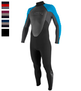 O'Neill Wetsuits Reactor 3/2mm Back Zip Full Scuba Wetsuits