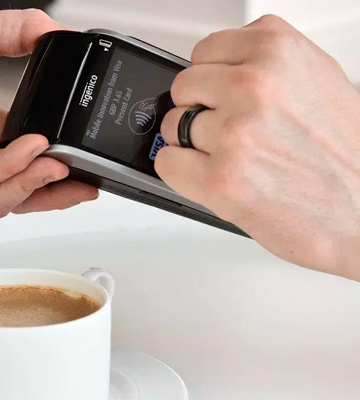 Review of NFC Ring McLEAR Unisex Ceramic Programmable Smart Ring