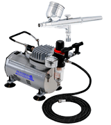 Master Airbrush ECO-17 Air Compressor and Airbrush Kit
