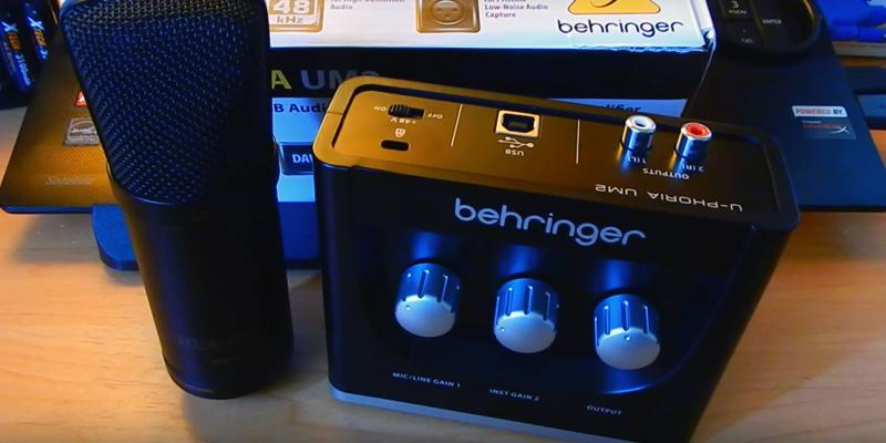 Detailed review of Behringer U-Phoria UM-2 Audio Interface