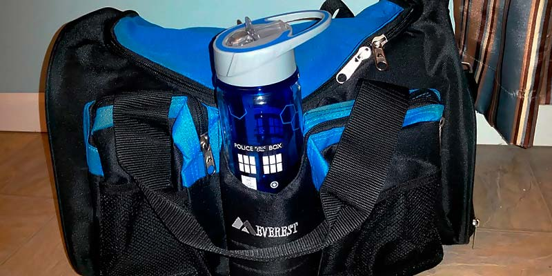 Review of Everest S223-BK Gym Bag with Wet Pocket