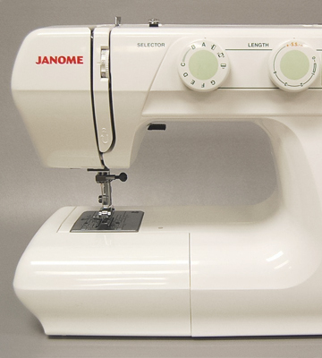 Review of Janome 2212 Easy Turn Dial Pattern Selection