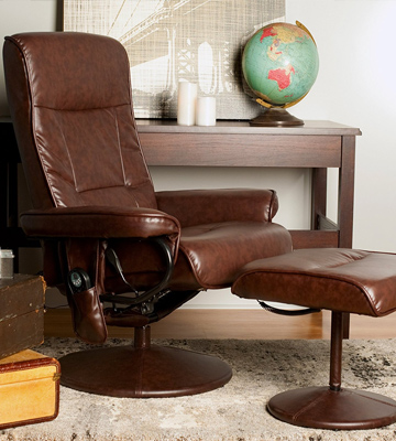 Review of Relaxzen 60-425111 with Heat Brown Massage Chair