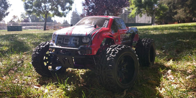 Redcat Racing Remote Control Truck in the use