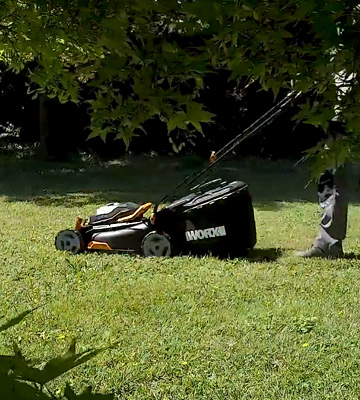 Review of WORX WG743 40V PowerShare 4.0Ah 17 Lawn Mower